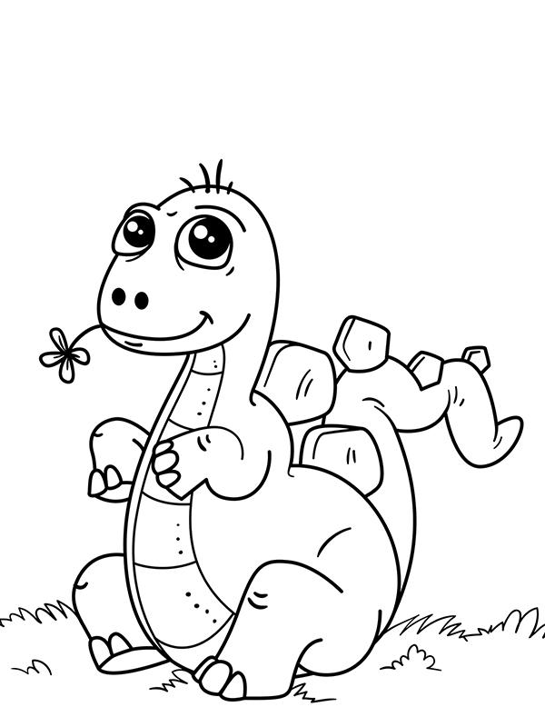 Bojanke Za Decu Dinosaurusi