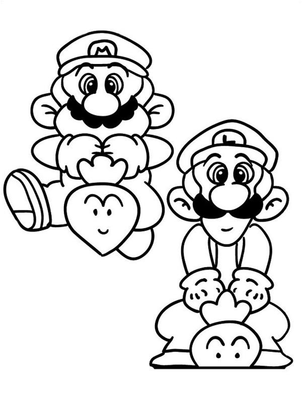 Bojanke Za Decu Super Mario Bros